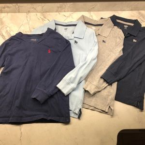 Polo Long sleeve. 3 NWOT Old Navy shirts 5T
